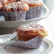 Dairy Free Frosted Banana Spice Cupcakes
