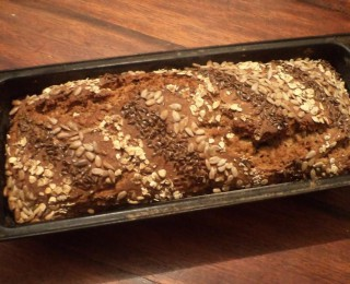 Easy seeded health bread recipe