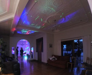 Our teen's hit disco party