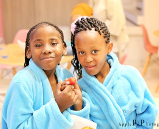 Spa vibes for kids
