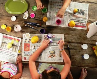 School Holidays : A-Z ideas that will keep kids busy