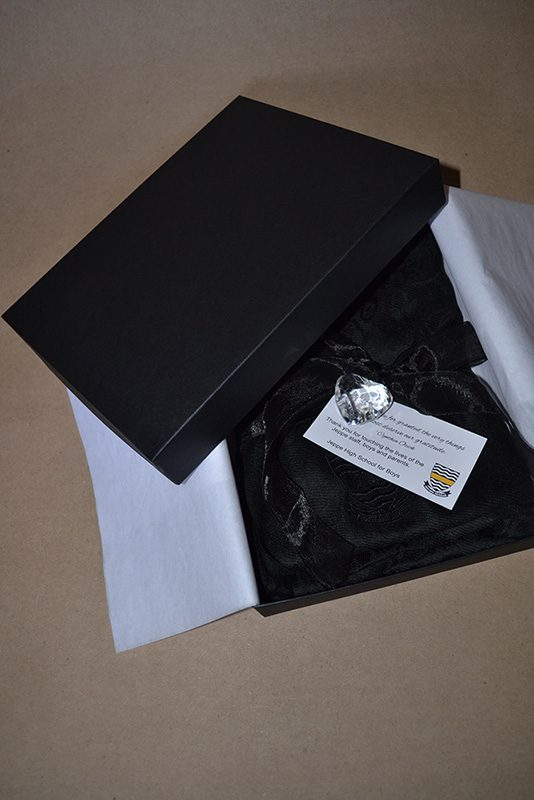 Embroidered pashmina in gift box for Jeppe Boys