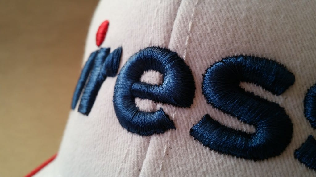 Cap with 3D embroidery - Iress logo