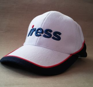 Cap with 3D embroidery