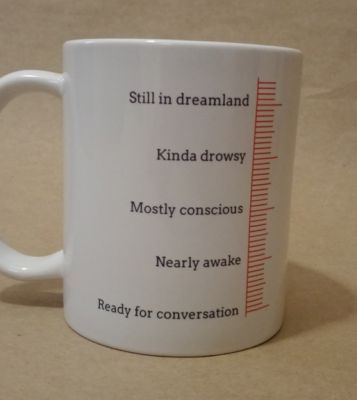 Novelty Printed Mug