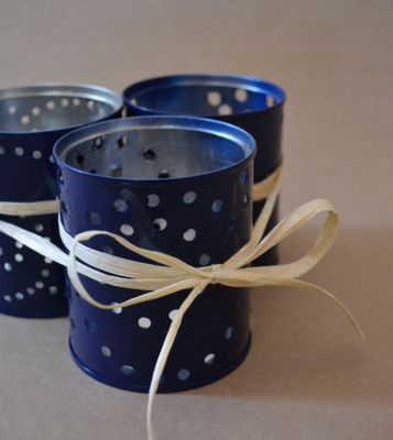 Up Cycled Tea Light Candle Holders